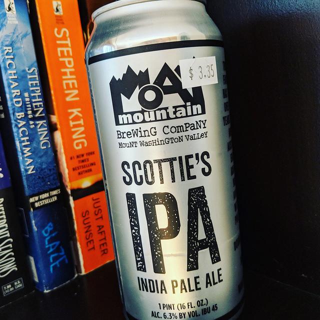 Обзор пива. Moat Mountain Scottie's IPA.