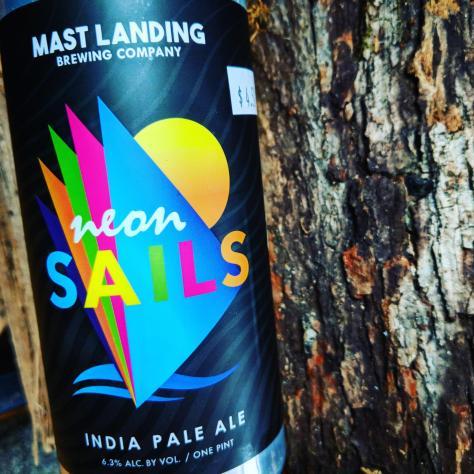 Обзор пива. Mast Landing Neon Sails.