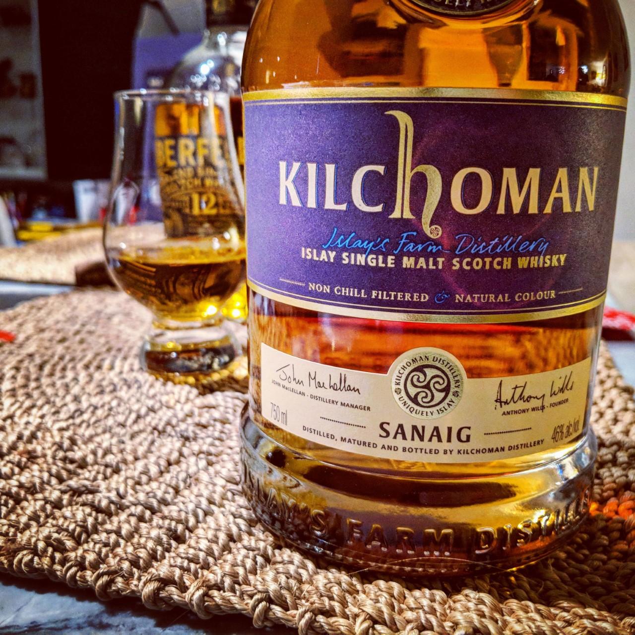 Обзор виски. Kilchoman Sanaig.