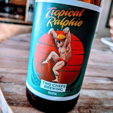 Обзор пива. Two Chefs Tropical Ralphie.