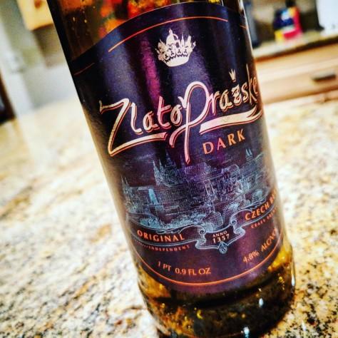 Обзор пива. Regent Třeboň Zlato Prazske Dark.
