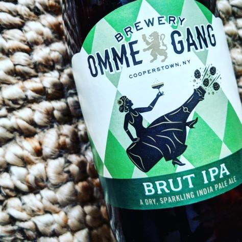 Обзор пива. Ommegang Brut IPA.