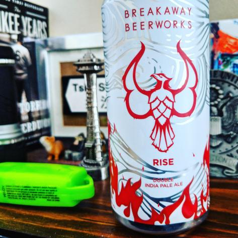 Обзор пива. Breakaway Rise.