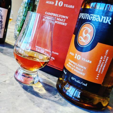 Обзор виски. Springbank 10.