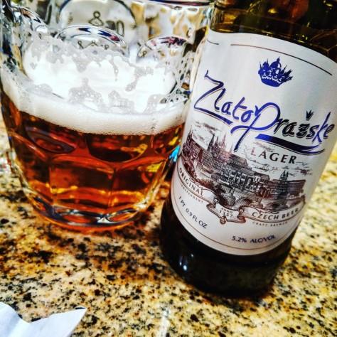 Обзор пива. Regent Třeboň Zlato Prazske [Zlatopražske].