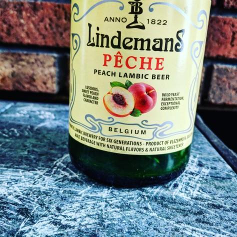 Обзор пива. Lindemans Pêche.