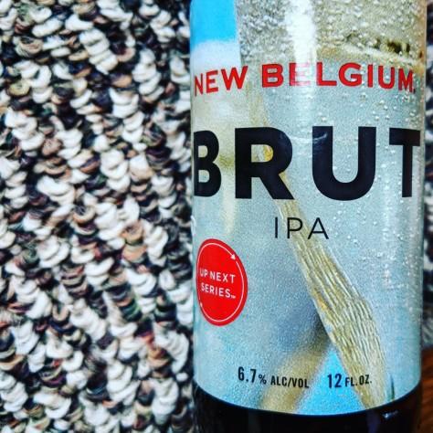 Обзор пива. New Belgium Brut IPA.
