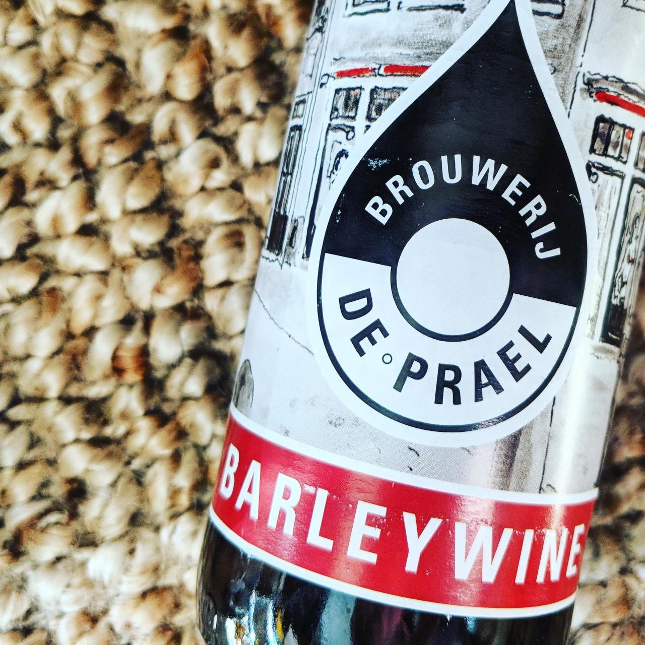 Обзор пива. De Prael Barleywine.