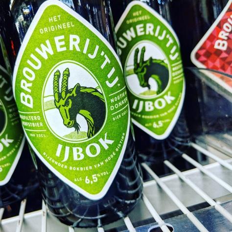 Обзор пива. Brouwerij 't IJ IJBok.