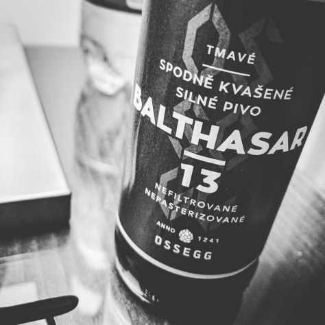 Обзор пива. Ossegg Praha Balthasar 13.
