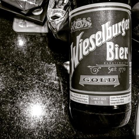 Обзор пива. Wieselburger Gold.
