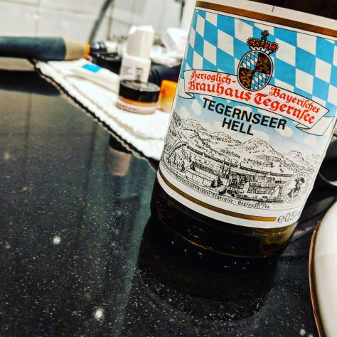 Обзор пива. Tegernseer Hell.