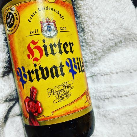 Обзор пива. Hirter Privat Pils.