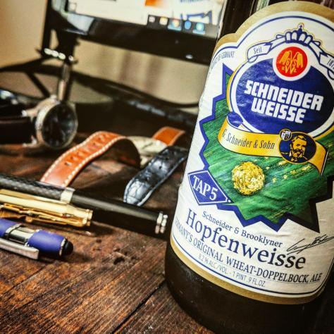 Обзор пива. Schneider Weisse Tap 5 Hopfenweisse.