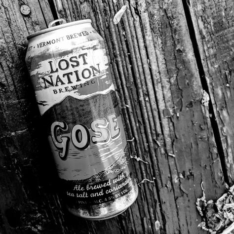 Обзор пива. Lost Nation Gose.