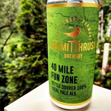Обзор пива. Hermit Thrush 40 Mile Fun Zone.