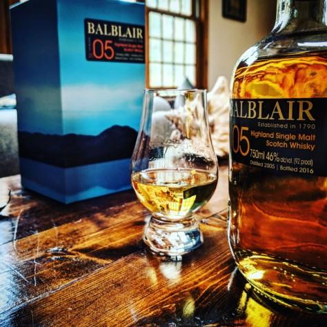 Обзор виски. Balblair 2005 1st Release.