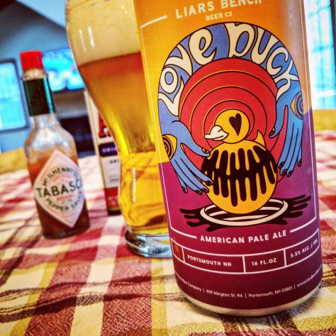 Обзор пива. Liars Bench Love Duck.