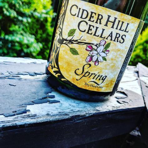Обзор крепкого сидра. Cider Hill Cellars Spring.