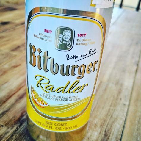 Обзор пива. Bitburger Radler.