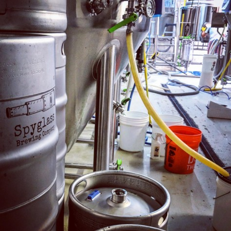 Крафтовая пивоварня. Spyglass Brewing Company. Фотоотчёт.