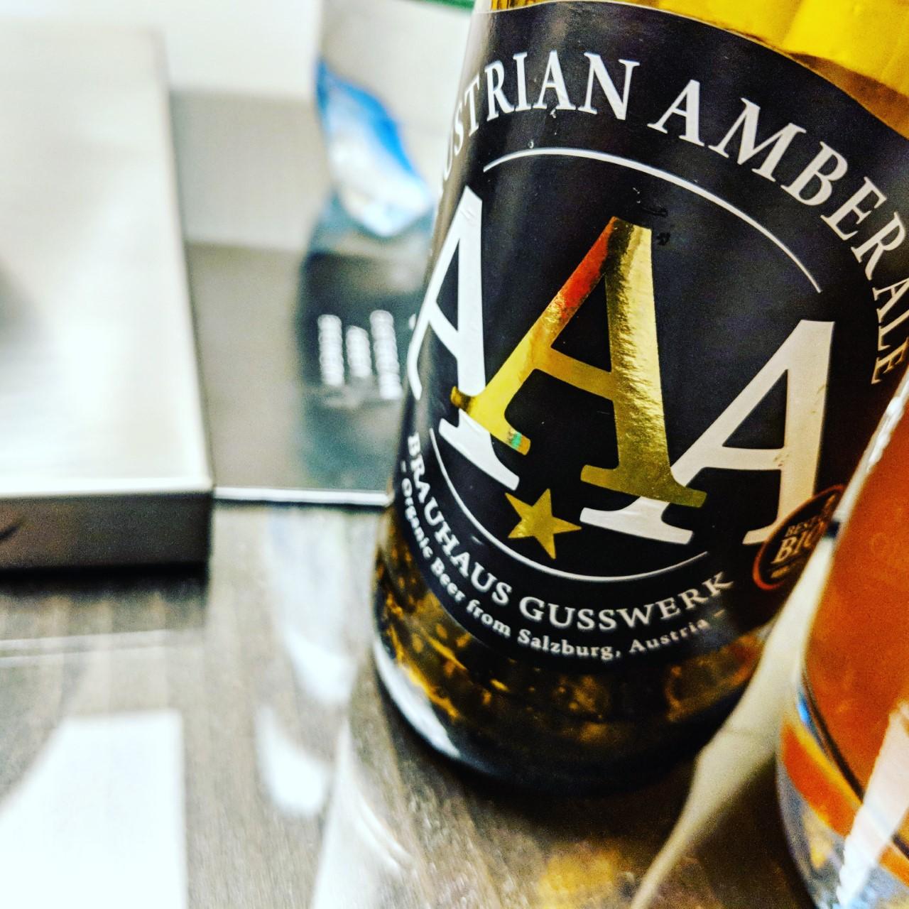 Обзор пива. Gusswerk AAA Austrian Amber Ale.