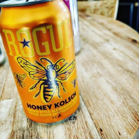 Обзор пива. Rogue Honey Kolsch.