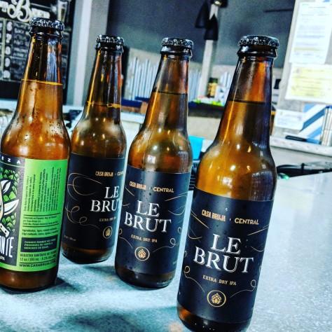 Обзор пива. Casa Bruja Le Brut.
