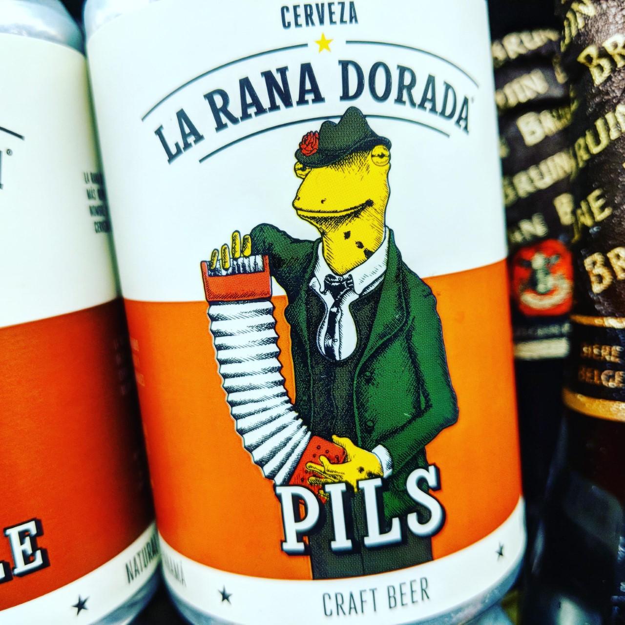 Обзор пива. La Rana Dorada Premium Pilsner.
