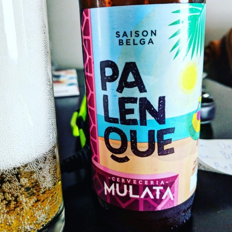Обзор пива. Mulata Palenque.