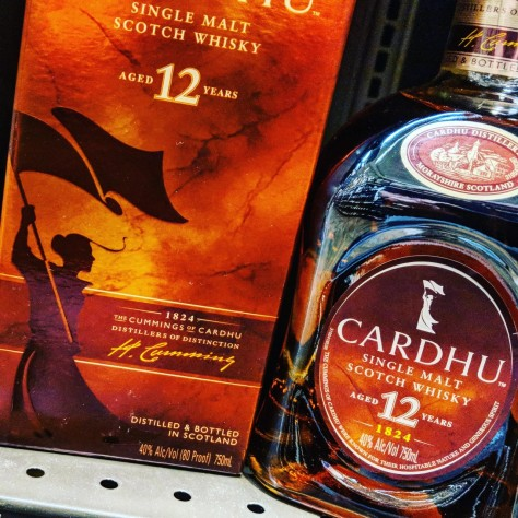 Обзор виски. Cardhu 12.