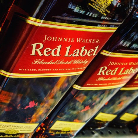 Обзоры виски. Johnnie Walker Red Label.