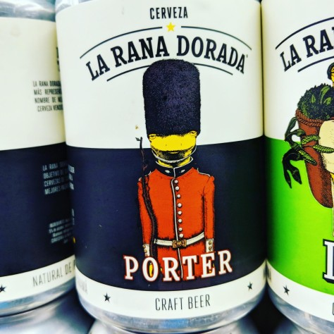 Обзор пива. La Rana Dorada Porter.
