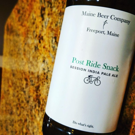 Обзор пива. Maine Beer Company Post Ride Snack.