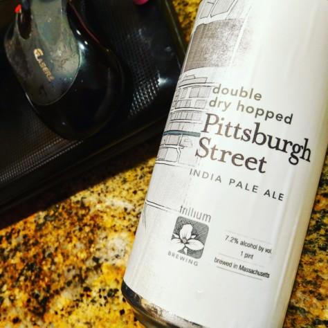 Обзор пива. Trillium Pittsburgh Street.