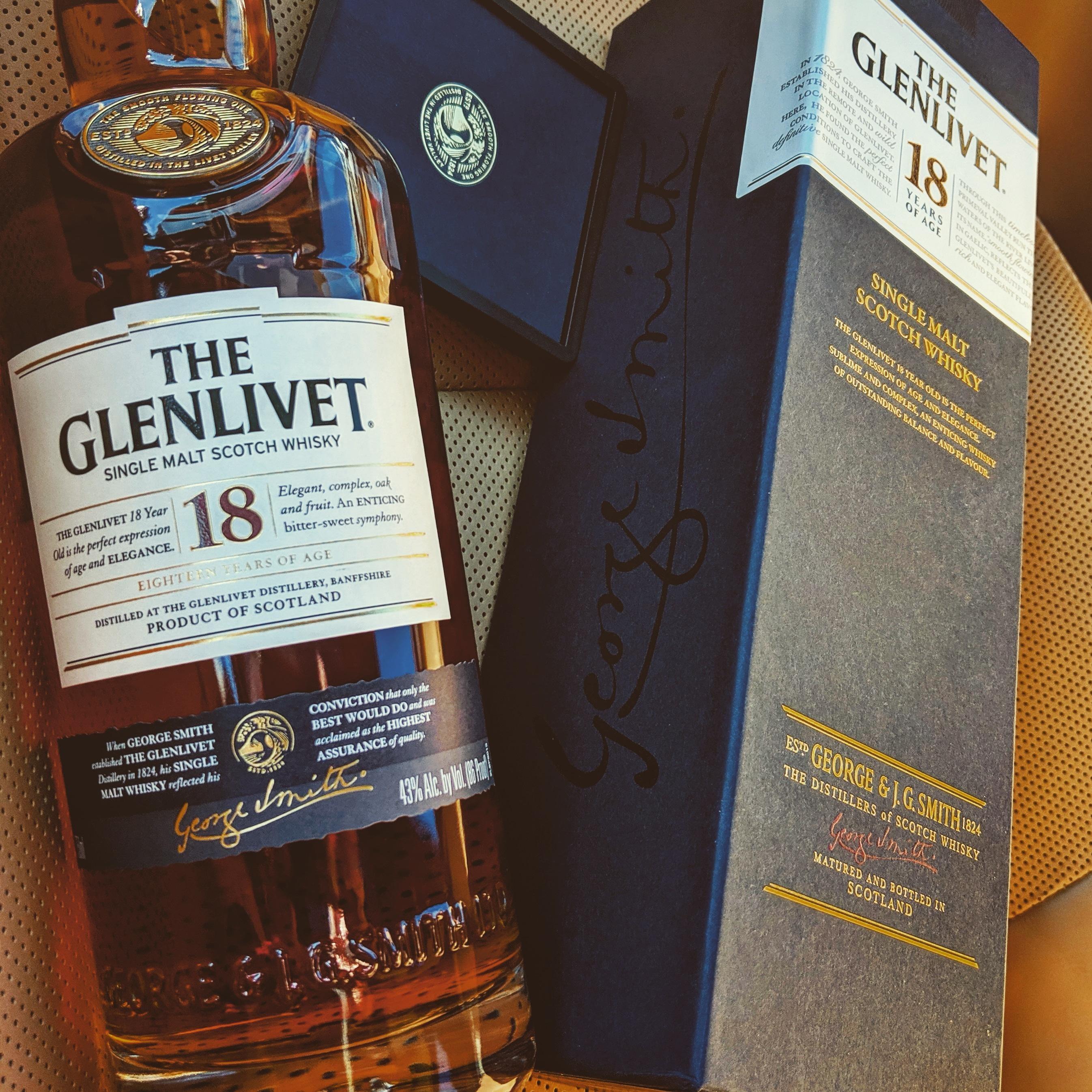Обзор виски. The Glenlivet 18.