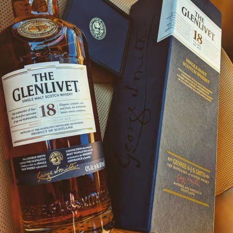 Обзор виски. The Glenlivet 18.