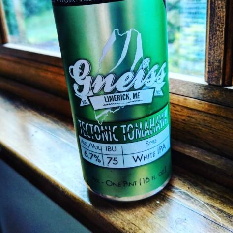 Обзор пива. Gneiss Tectonic Tomahawk.