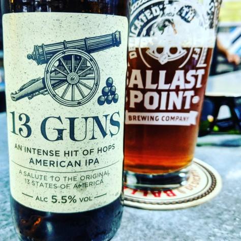 Обзор пива. Daniel Thwaites 13 Guns.