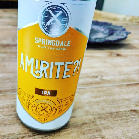Обзор пива. Springdale Amirite?!