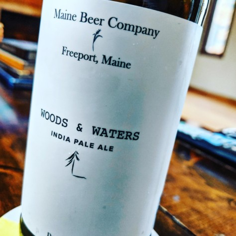 Maine Beer Company Woods and Waters. [Обзор пива].