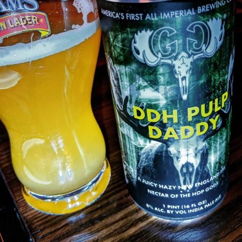 Обзор пива. Greater Good DDH Pulp Daddy.