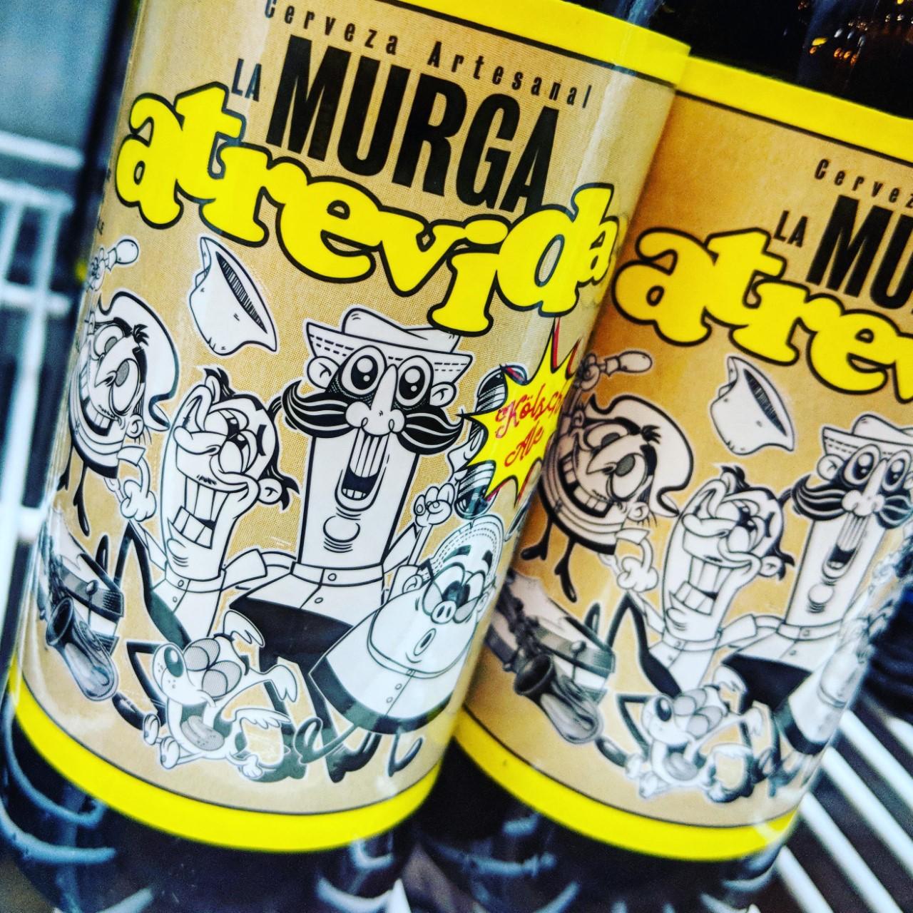 Обзор пива. La Murga Atrevida.
