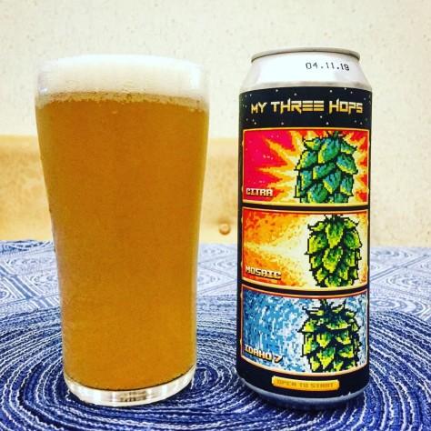 Обзор пива. Stamm My Three Hops.