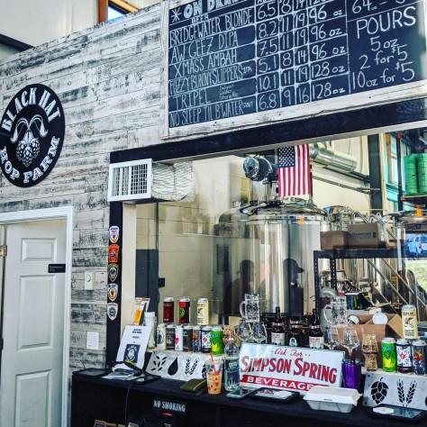 Кратфовая пивоварня. Black Hat Brew Works.