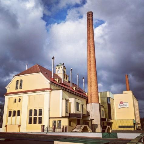 Пивоварня. Pilsner Urquell. Фотоотчёт.