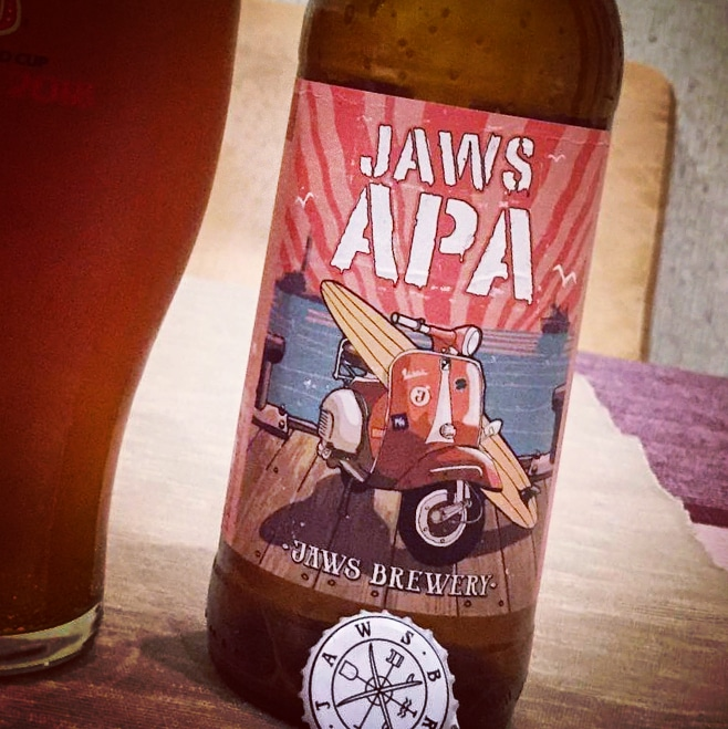 Jaws APA. [Обзор пива].