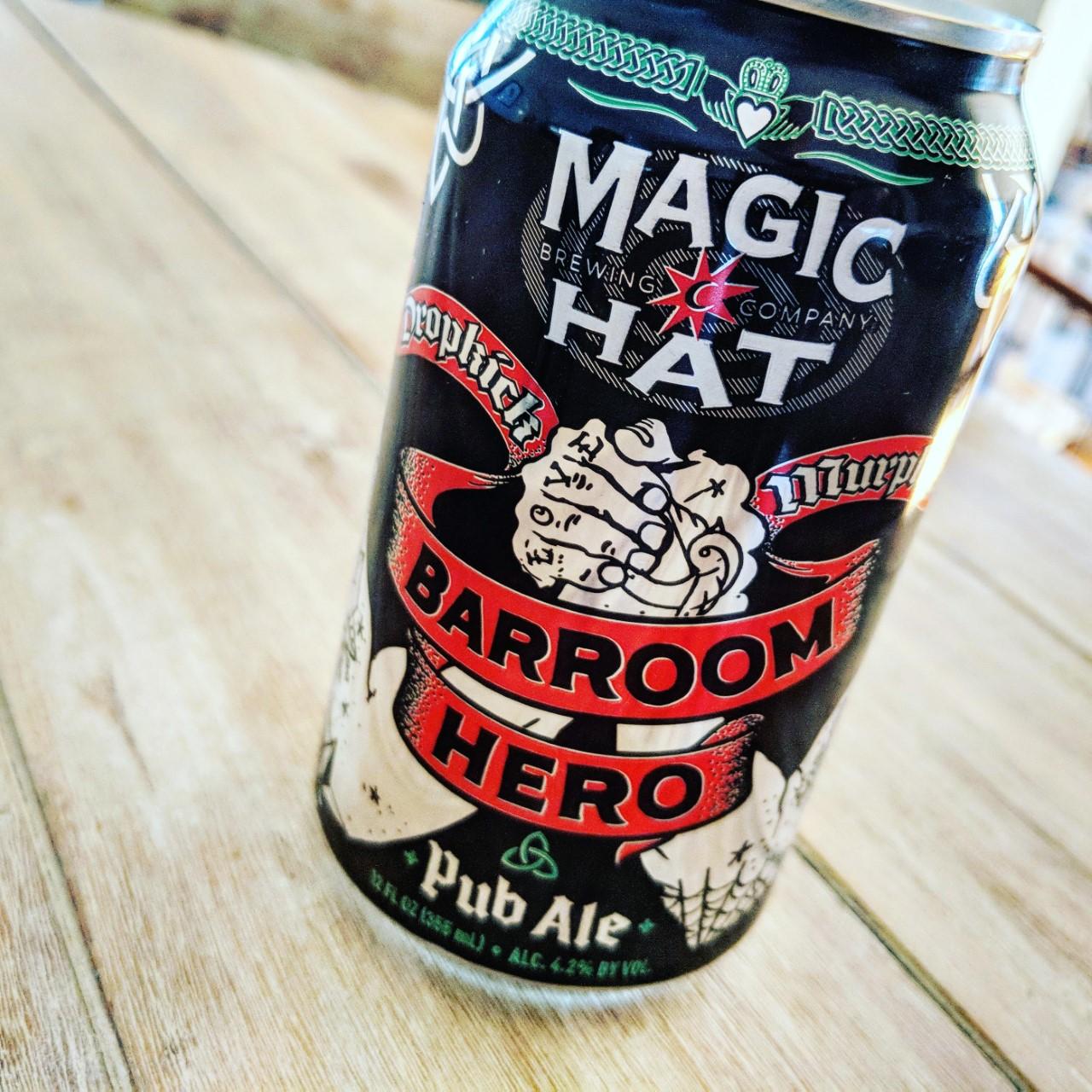 Magic Hat Barroom Hero. [Обзор пива].