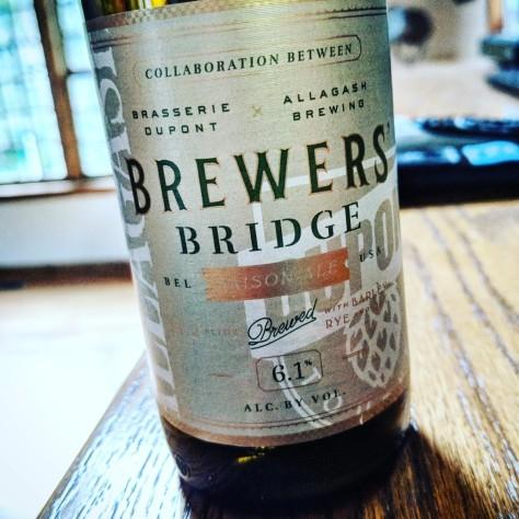 Dupont / Allagash Brewers' Bridge. [Обзор].