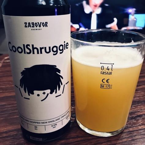 Zagovor Coolshruggie. [Обзор пива].
